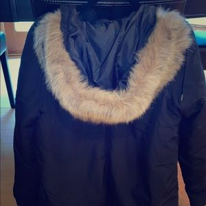 Old Navy never worn black jacket with hood